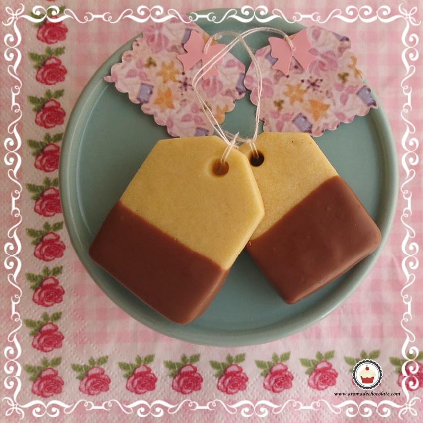Galletas de te. Aroma de chocolate