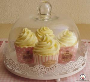 Cupcakes de vainilla..Aroma de chocolate