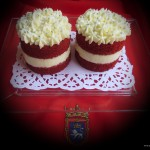 Mini Red Velvet cakes2. Aroma de chocolate