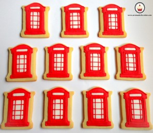 London cookies. Aroma de chocolate.