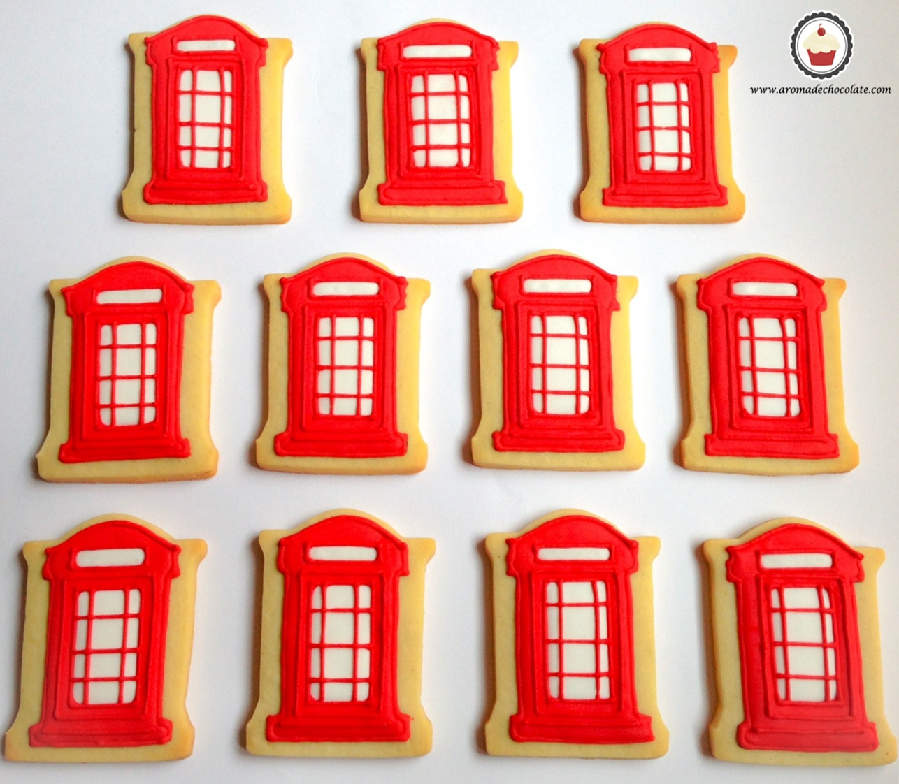 Galletas London. Aroma de chocolate.