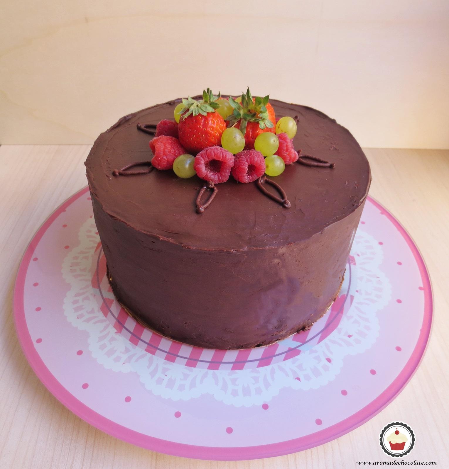 Pastel de chocolate. Aroma de chocolate