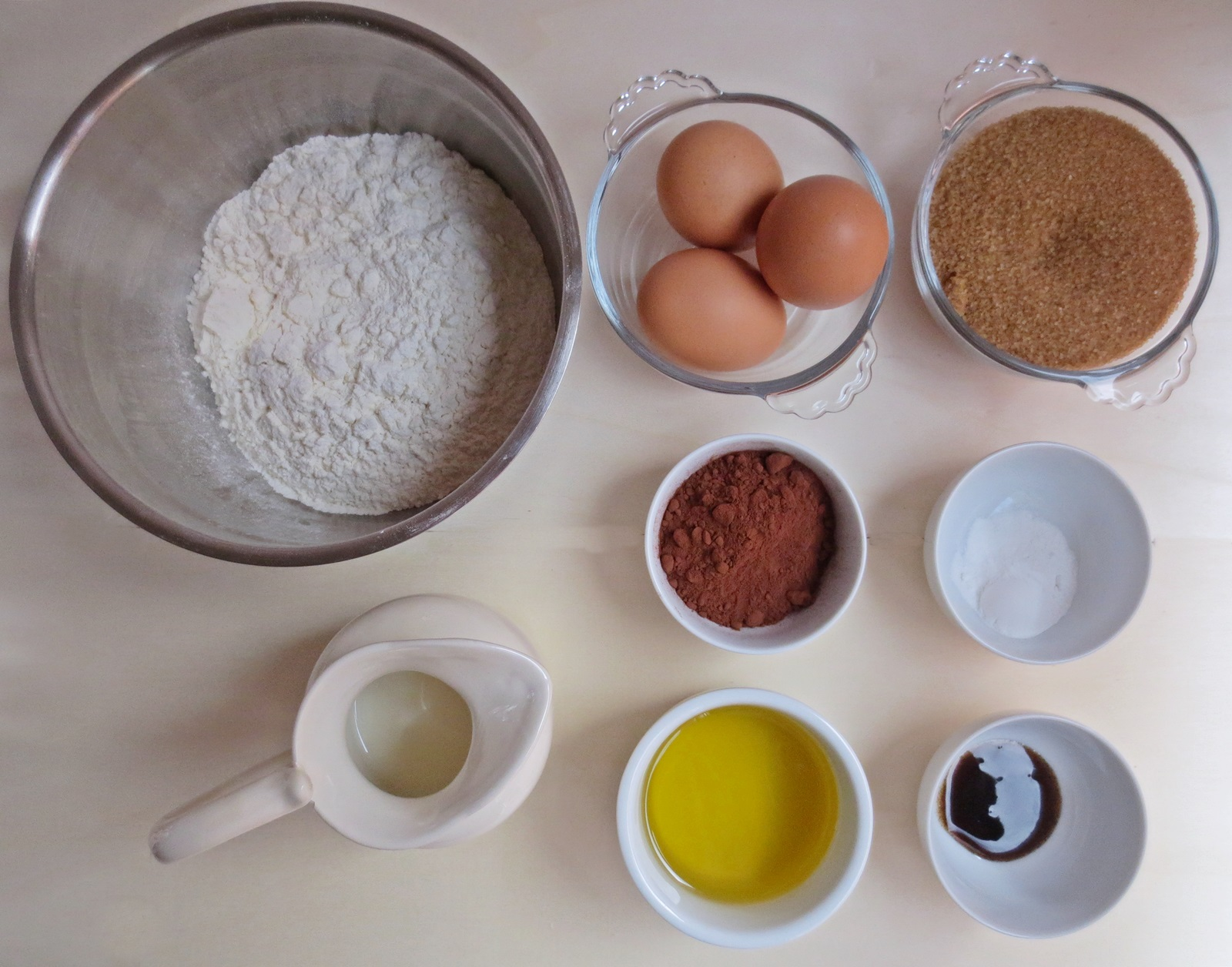 Ingredientes. Hi Hat Cupcakes. Aroma de chocolate
