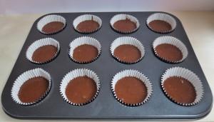 Rellenar las cápsulas. Hi Hat Cupcakes. Aroma de chocolate