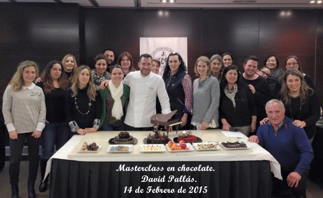 Masterclass en chocolate. David Pallas. Aroma de chocolate