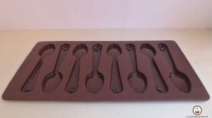 Molde de cucharas. Aroma de chocolate