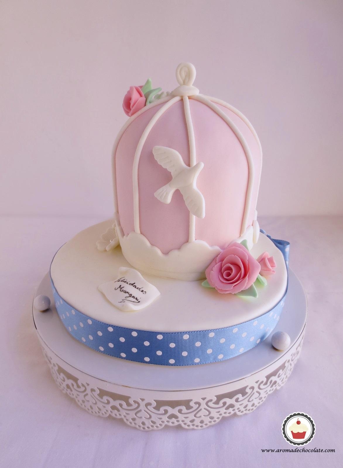 Cage cake . Aroma de chocolate