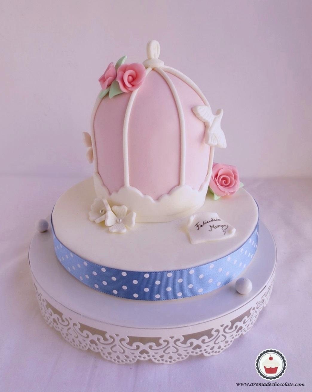 Bird Cage Cake .Aroma de chocolate