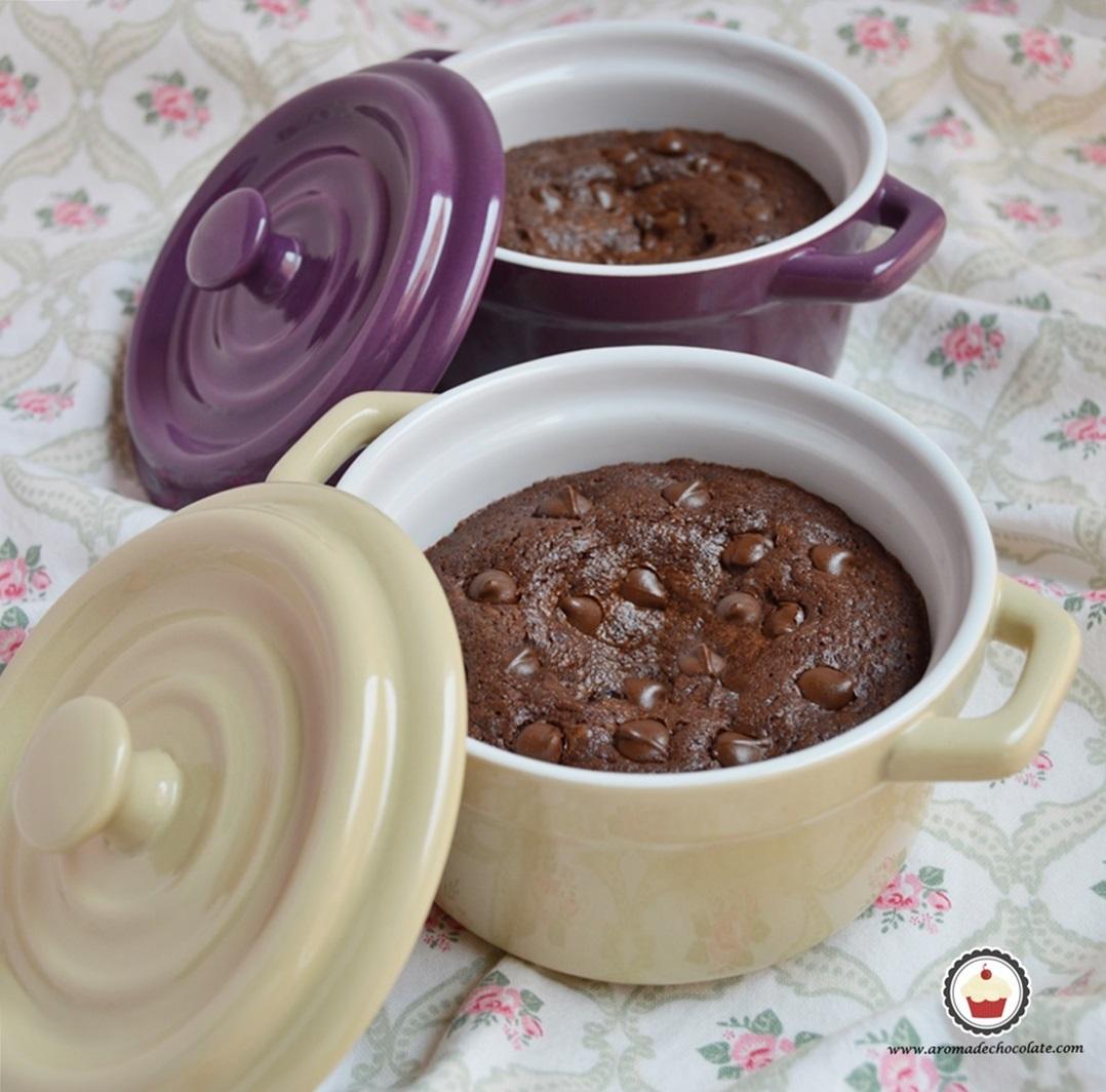 Brownie. Aroma de chocolate