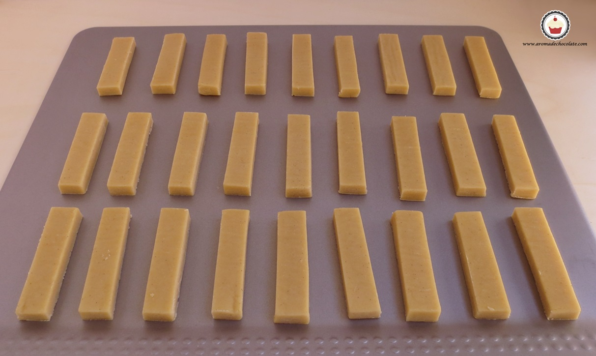 Galletas cortadas. Aroma de chocolate