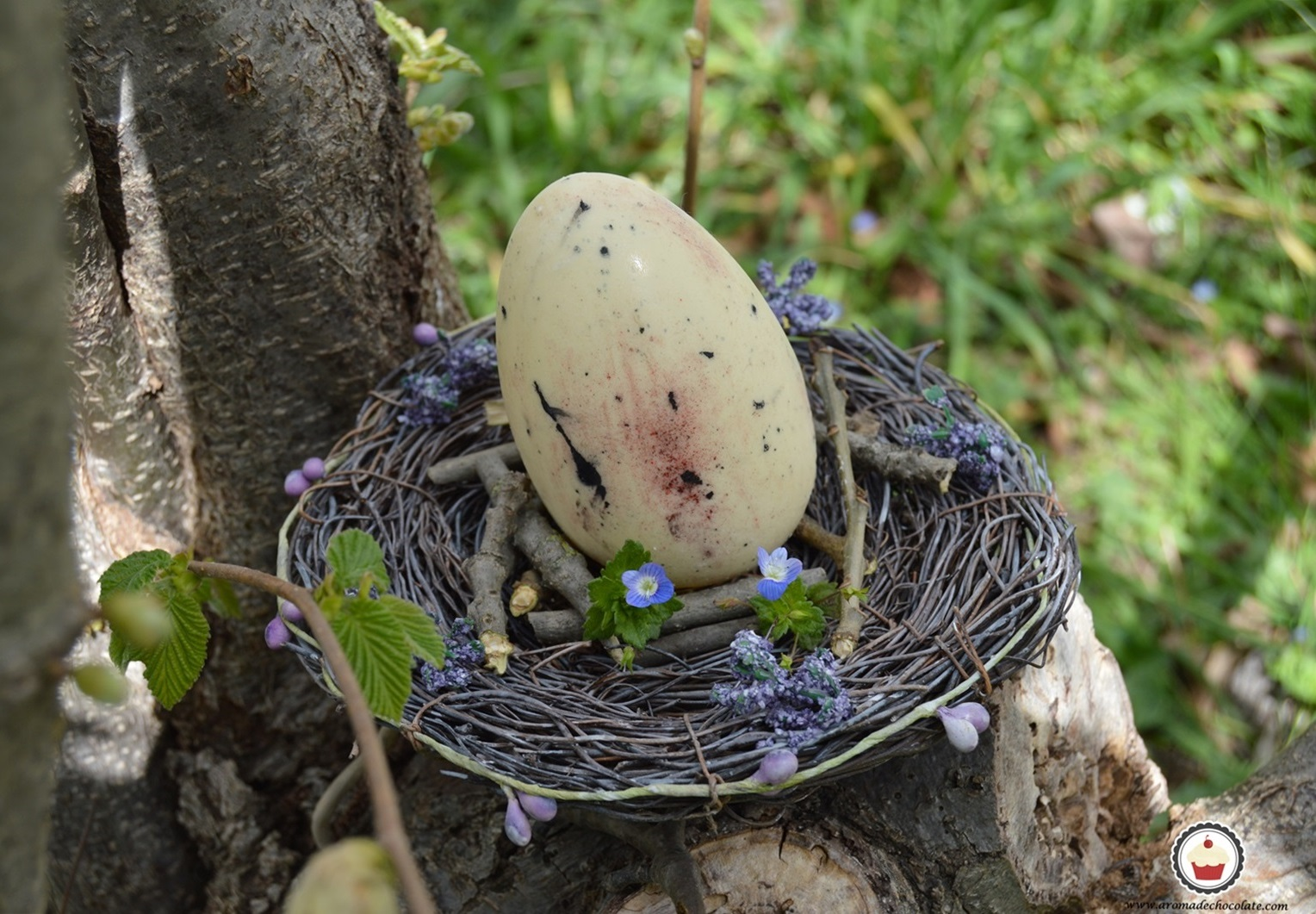 Huevos de pascua. Aroma de chocolate