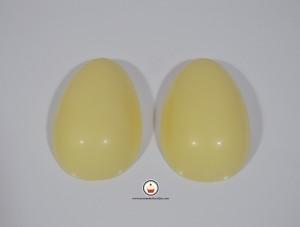 Huevos recien desmoldados. Aroma de chocolate