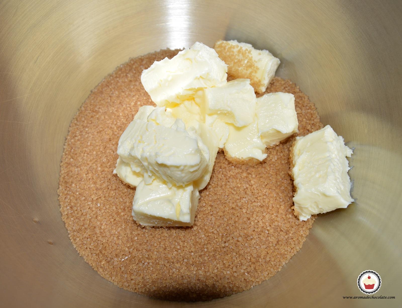 Azúcar y mantequilla. Aroma de chocolate