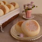 English muffins. Aroma de chocolate