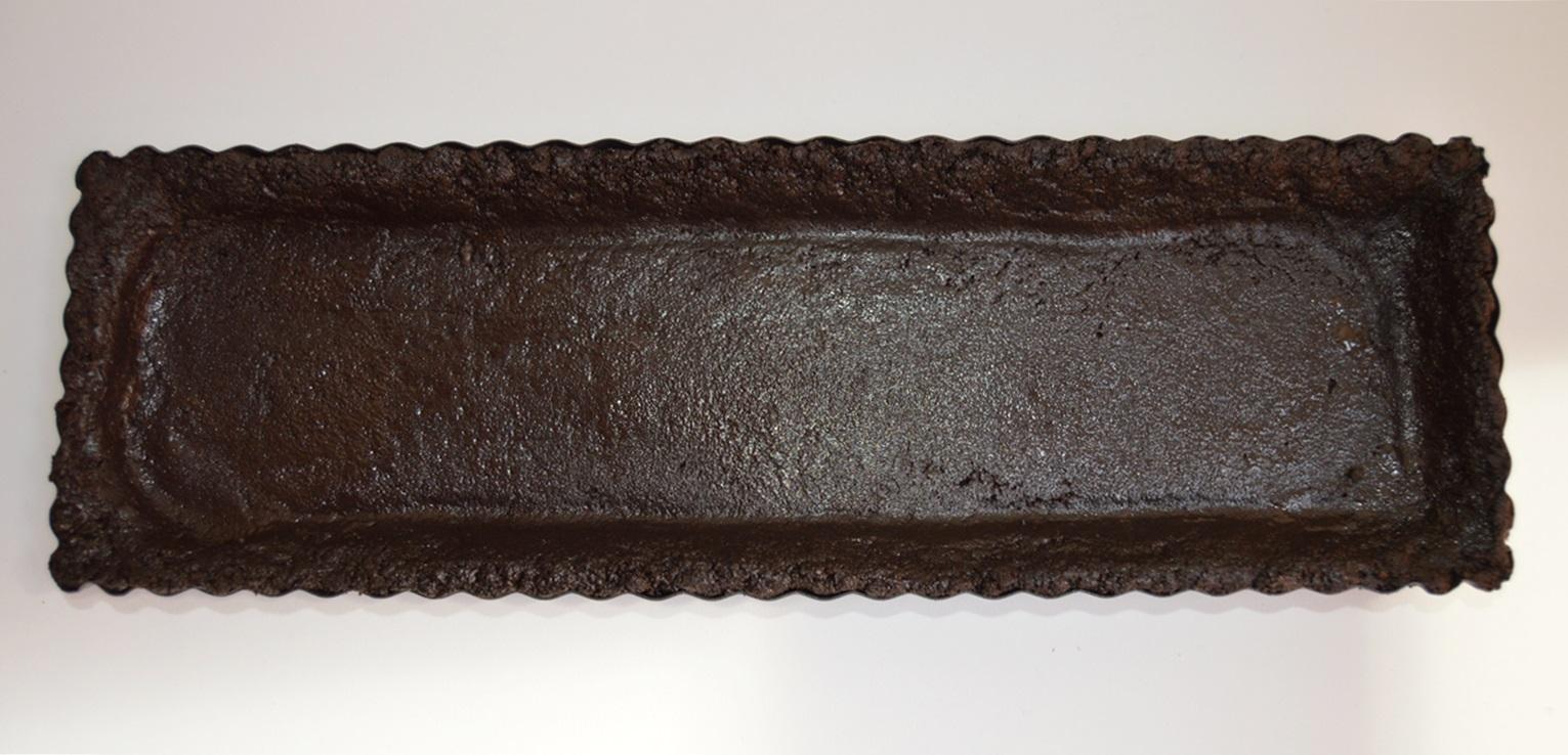 Base de la tarta. Aroma de chocolate