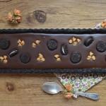 Tarta de Oreo. Aroma de chocolate