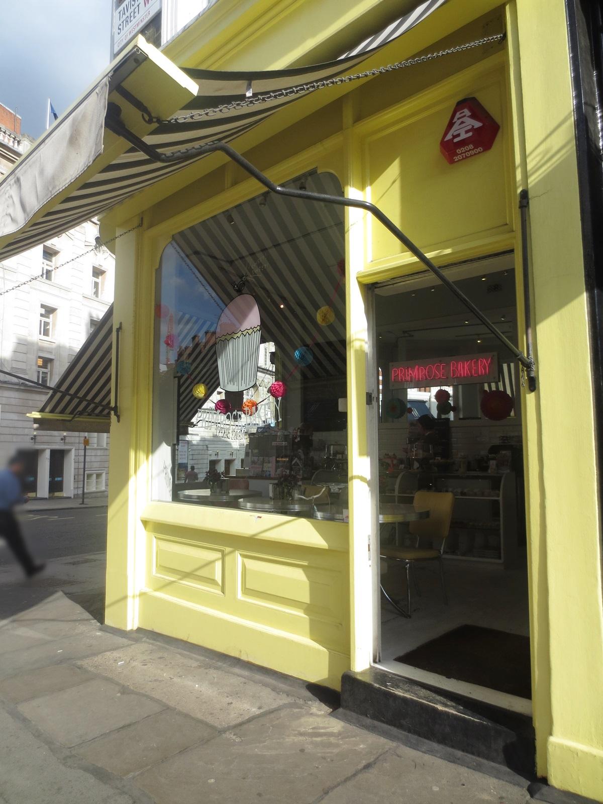 Primrose Bakery. Aroma de chocolate