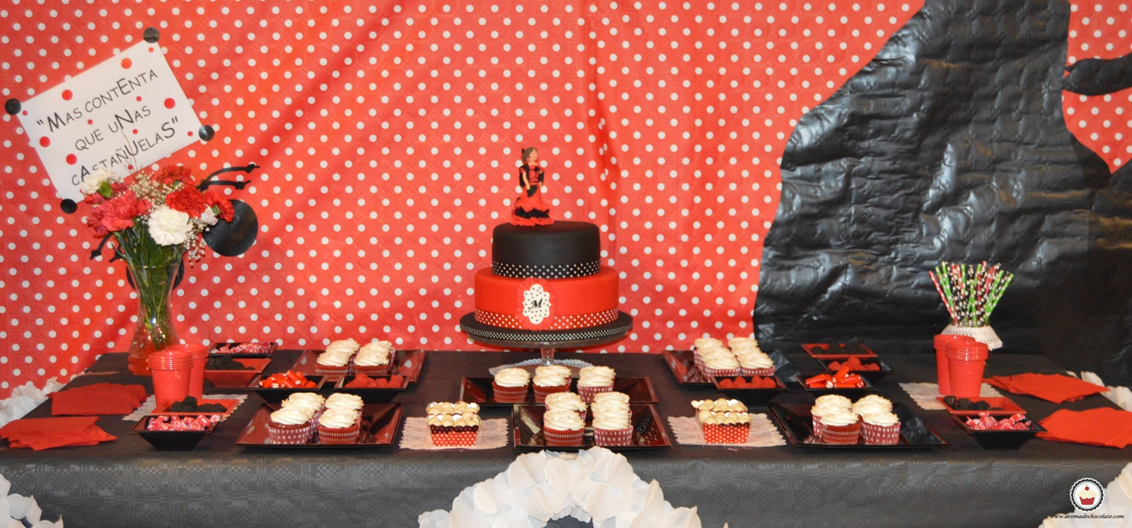 Mesa dulce sevillana. Aroma de chocolate