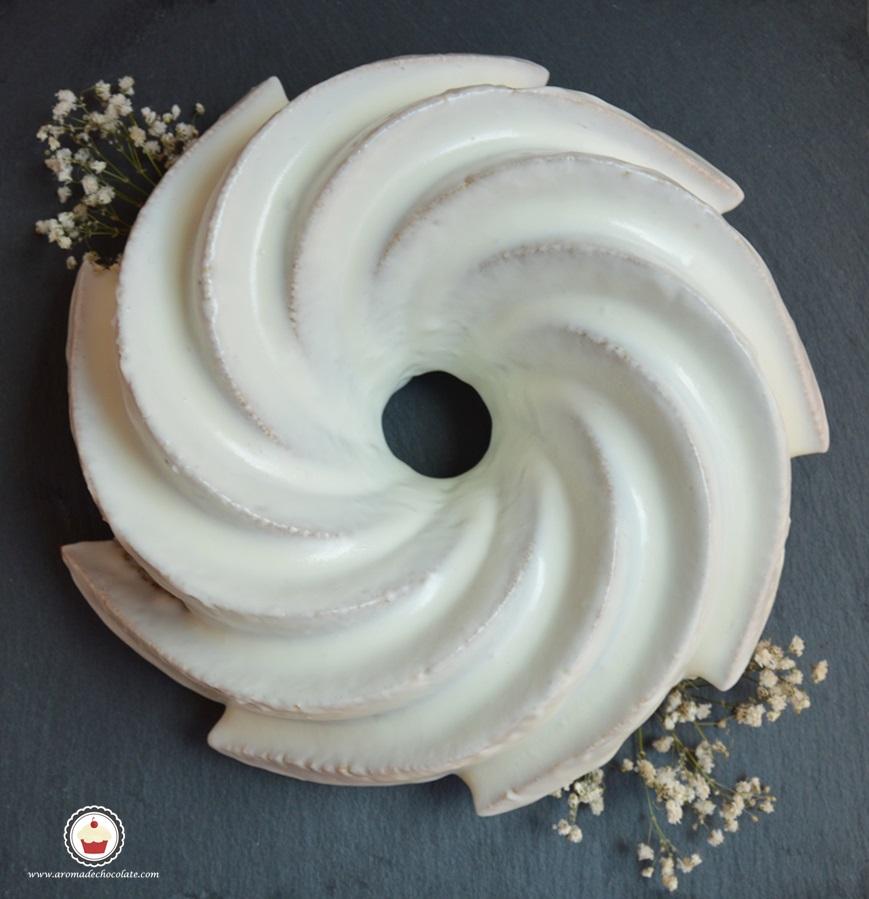 Bundt cake de calabaza. Aroma de chocolate