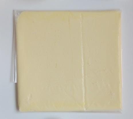 Mantequilla para hojaldrar. Aroma de chocolate