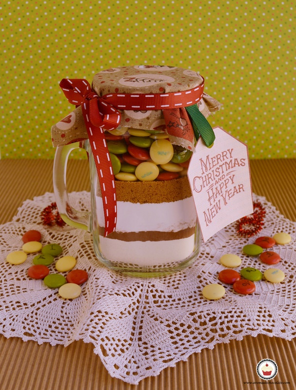 Cookies de Lacasitos. Aroma de chocolate
