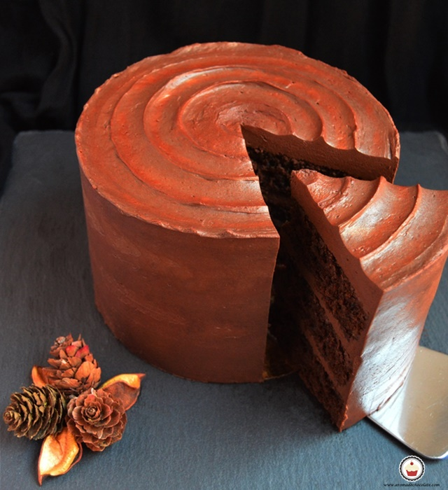 Carrot cake chocolateado. Aroma de chocolate
