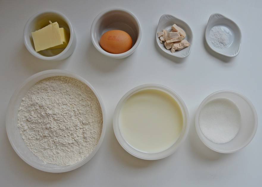 Ingredientes bagels. Aroma de chocolate
