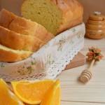 Pan de naranja y miel. Aroma de chocolate