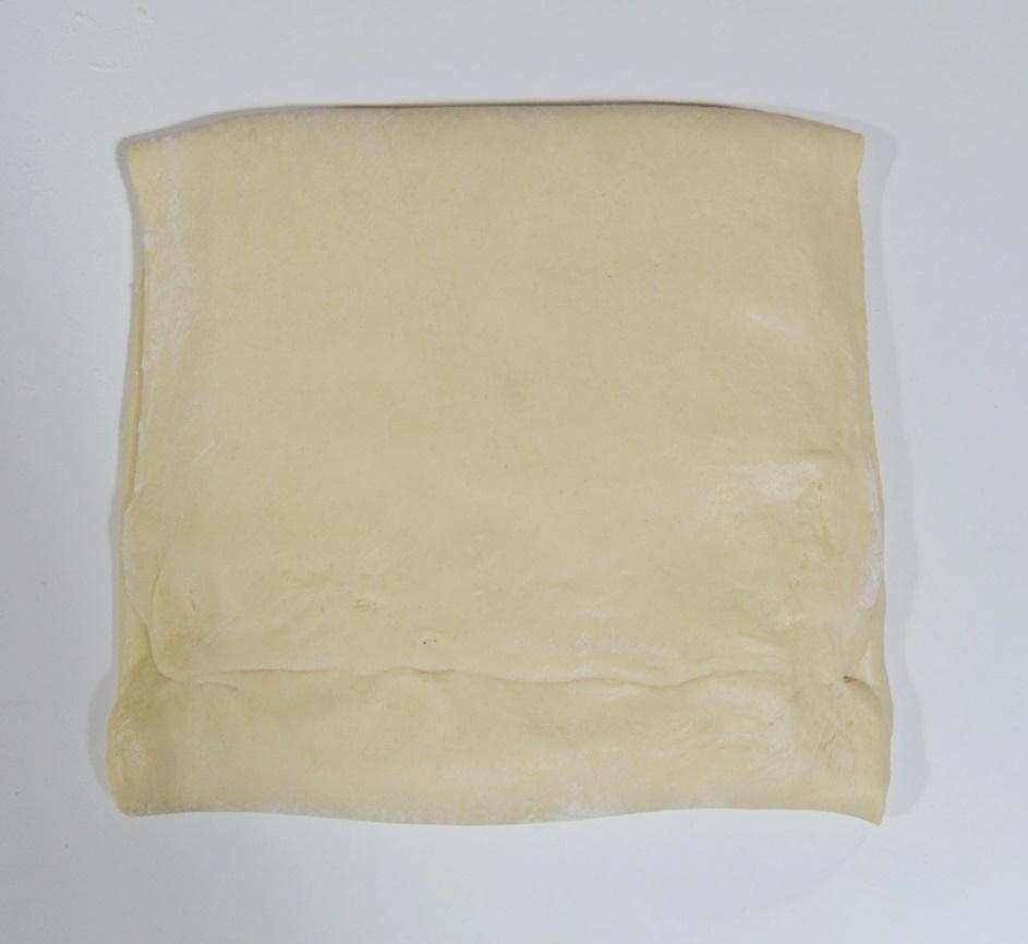 Masa con mantequilla. Aroma de chocolate