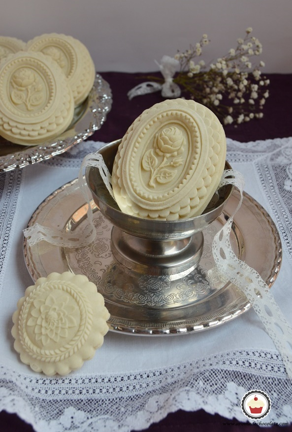 Galletas Springerle. Aroma de chocolate