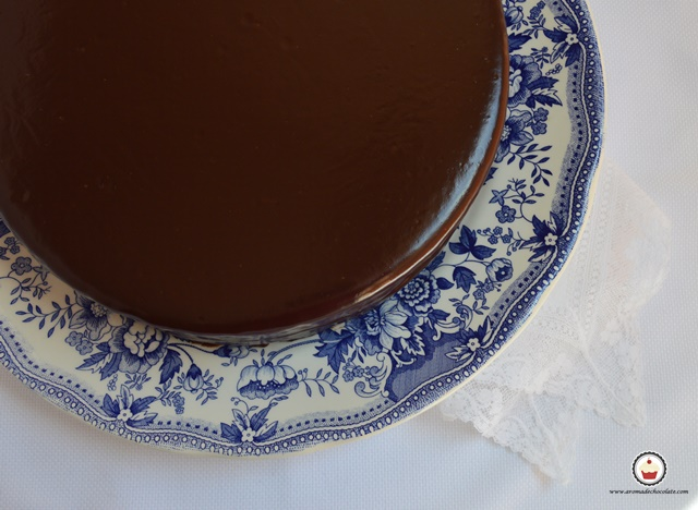 Tarta Sacher. Aroma de chocolate