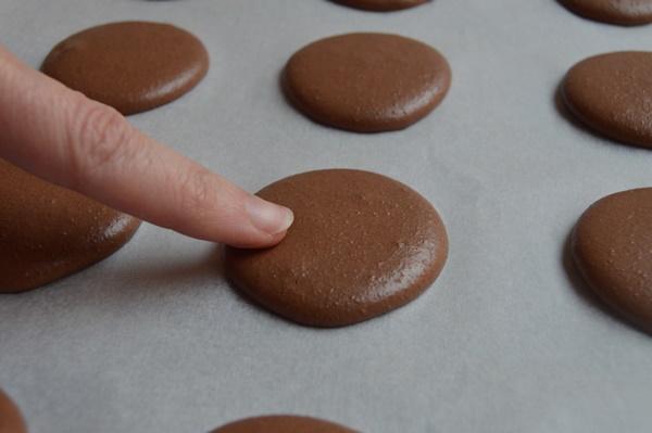 Prueba del dedo. Aroma de chocolate