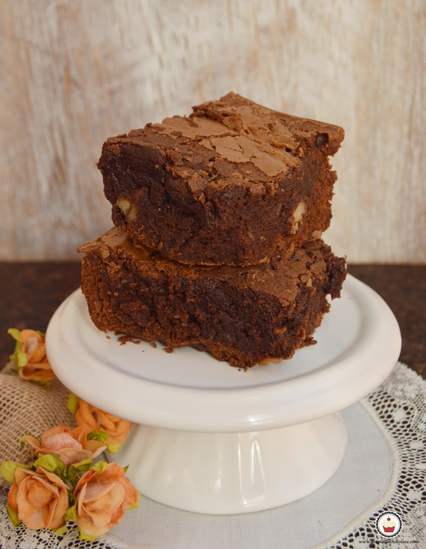Brown butter brownie. Aroma de chocolate