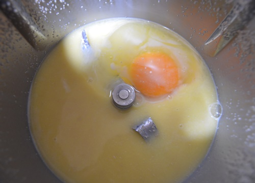 Huevo. Aroma de chocolate