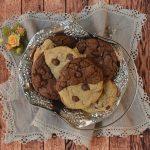 Chocolate chip brownie cookies. Aroma de chocolate