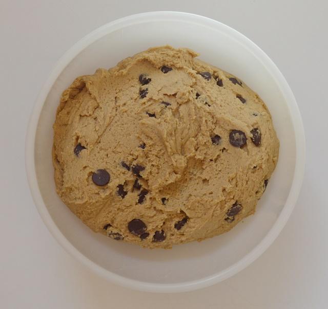 Masa de cookies. Aroma de chocolate