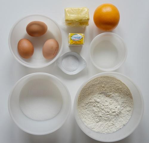 Ingredientes Brioche francés. Aroma de chocolate
