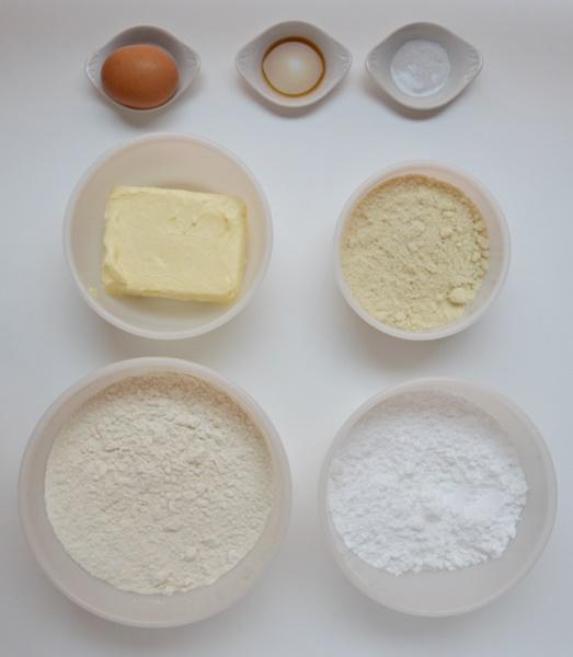 Ingredientes tarta de galleta. Aroma de chocolate