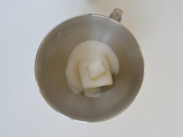 Mantequilla con azúcar. Aroma de chocolate