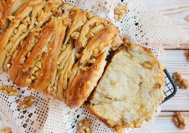 Pull apart bread. Aroma de chocolate