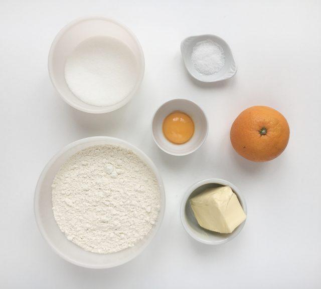 Ingredientes masa principal de pan de muerto. Aroma de chocolate