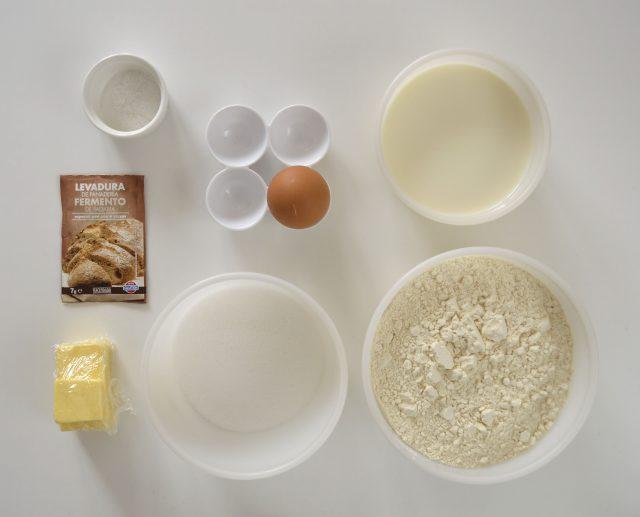 Ingredientes trenza de tahin y miel. Aroma de chocolate