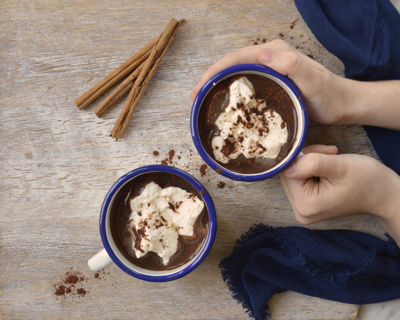Chocolate francés. Aroma de chocolate