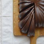 Pound cake de chocolate. Aroma de chocolate