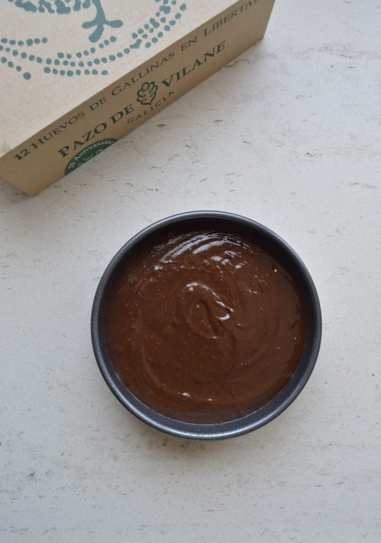 Bizcocho de chocolate. Aroma de chocolate